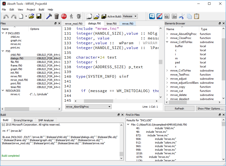 Absoft Pro Fortran | Fortran for Windows, OS X & Linux
