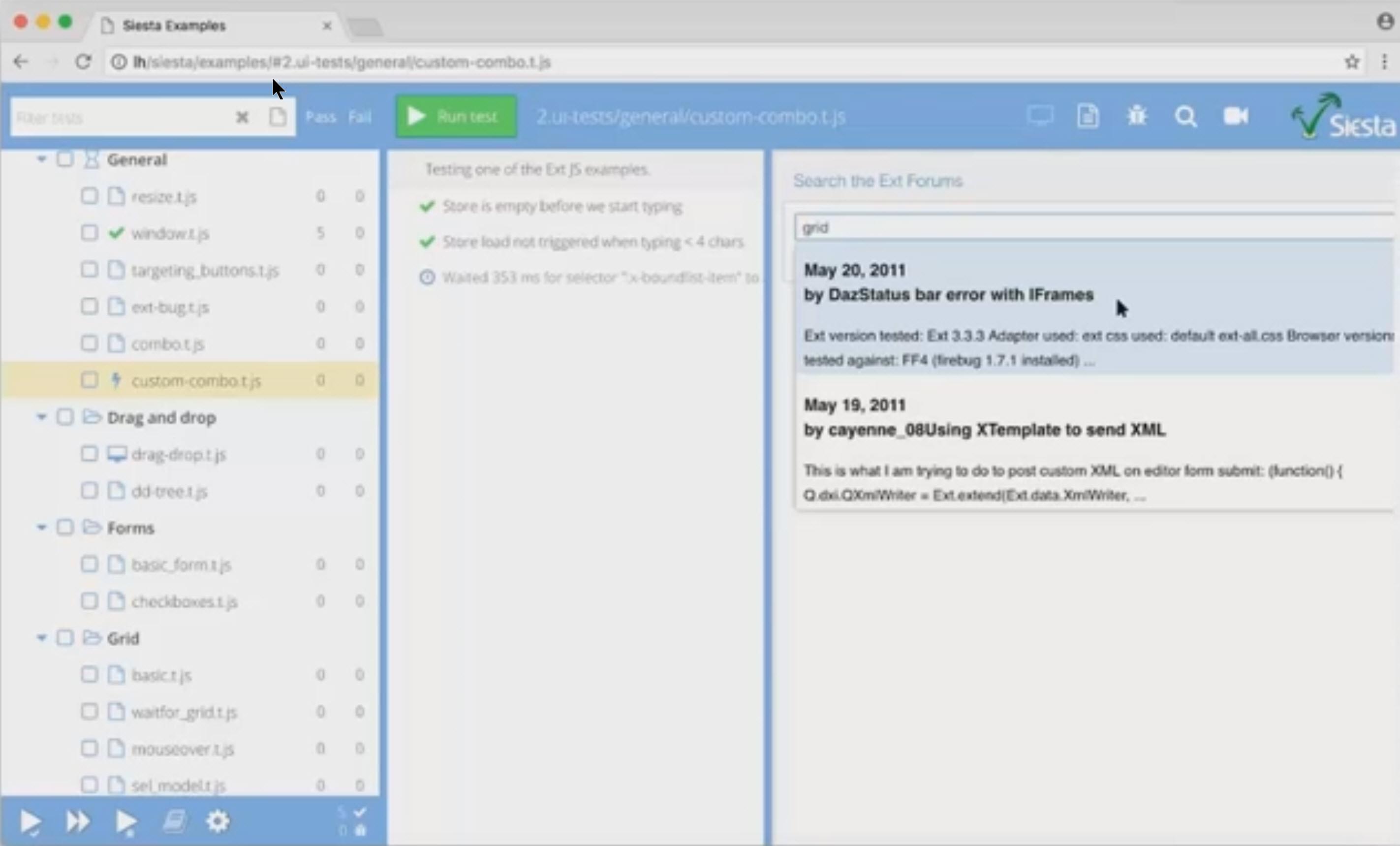 Bryntum complete ext gantt ext scheduler siesta javascript key features nvjuhfo Images