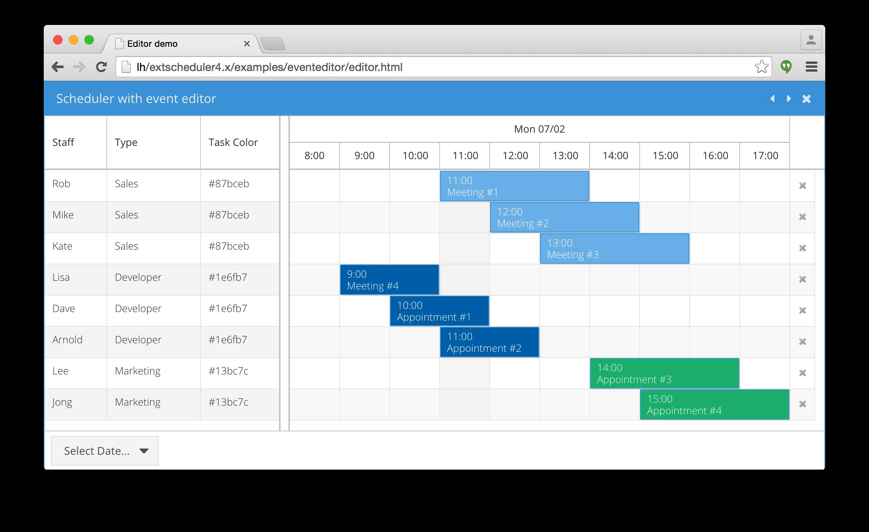 Bryntum complete ext gantt ext scheduler siesta javascript bryntum complete ext gantt ext scheduler siesta javascript gantt chart javascript scheduling tool javascript unit testing framework nvjuhfo Images