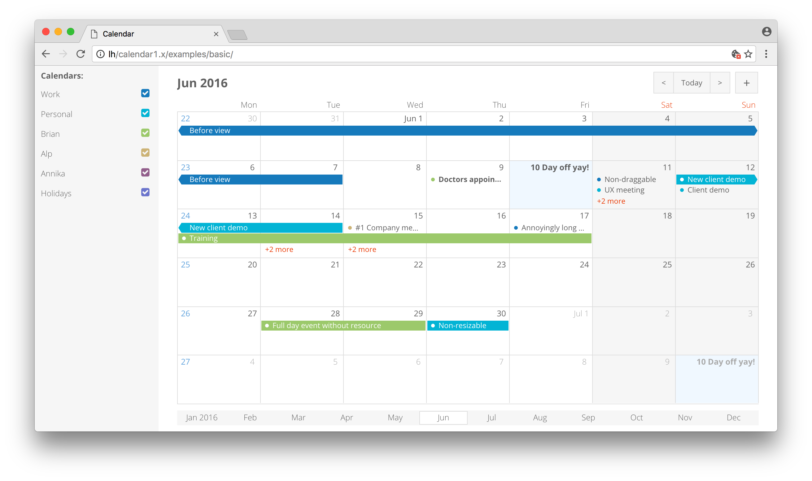 Bryntum complete ext gantt ext scheduler siesta javascript bryntum calendar nvjuhfo Images
