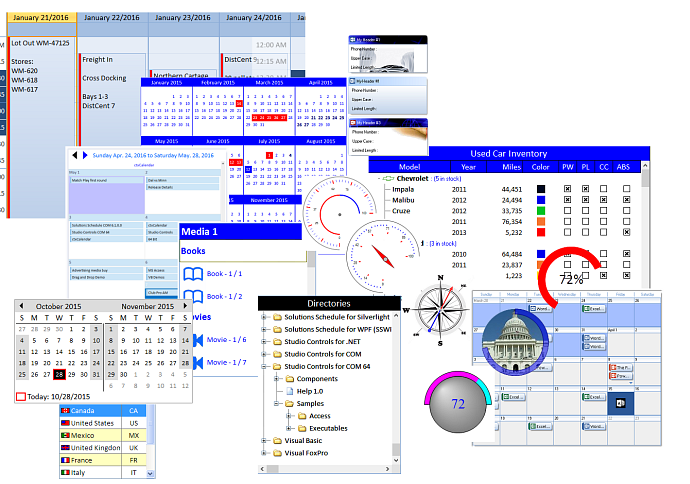DBI Products | Calendar | Solutions Schedule