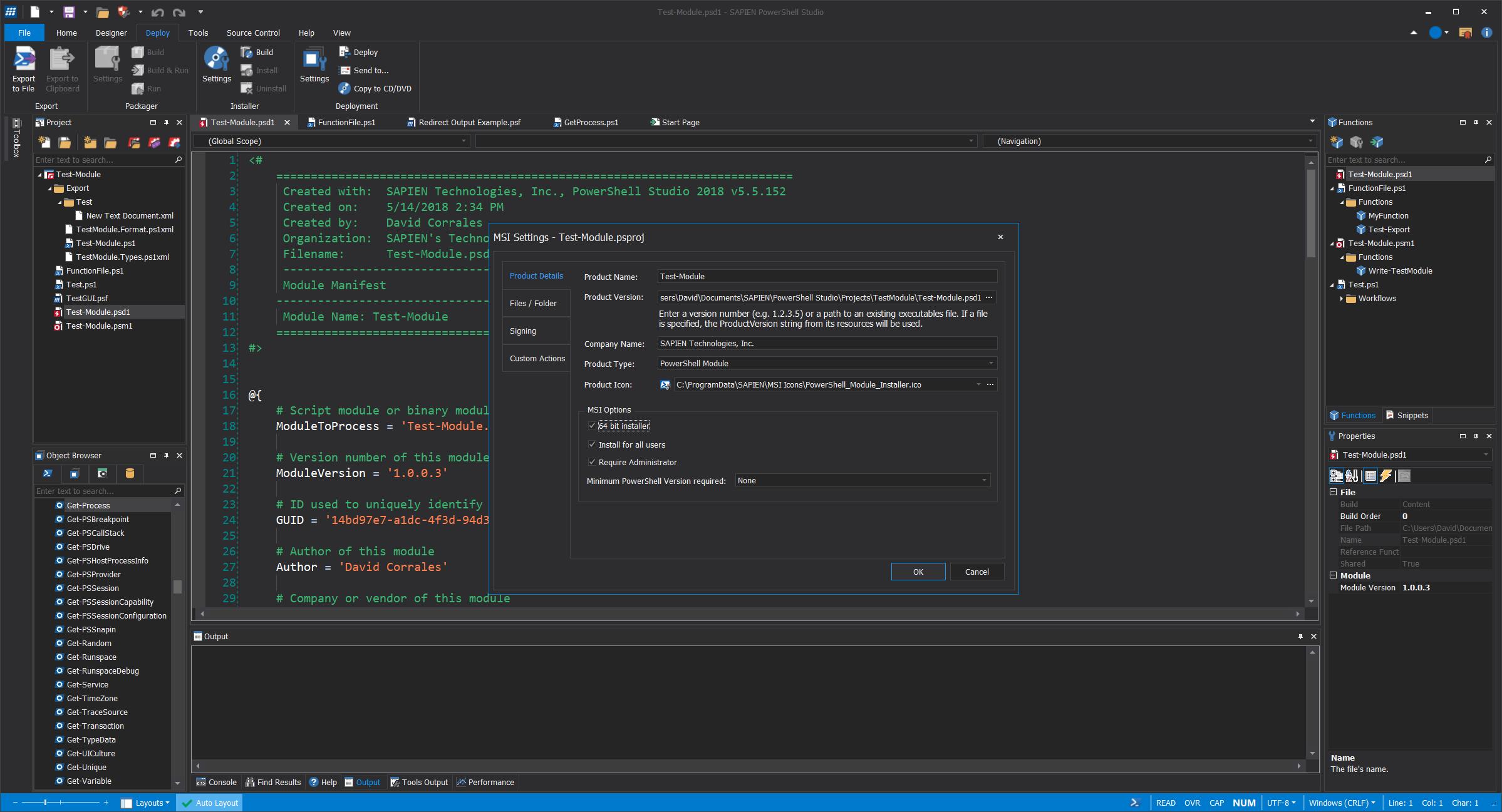 Sapien Technologies   PrimalScript   Scripting for PowerShell