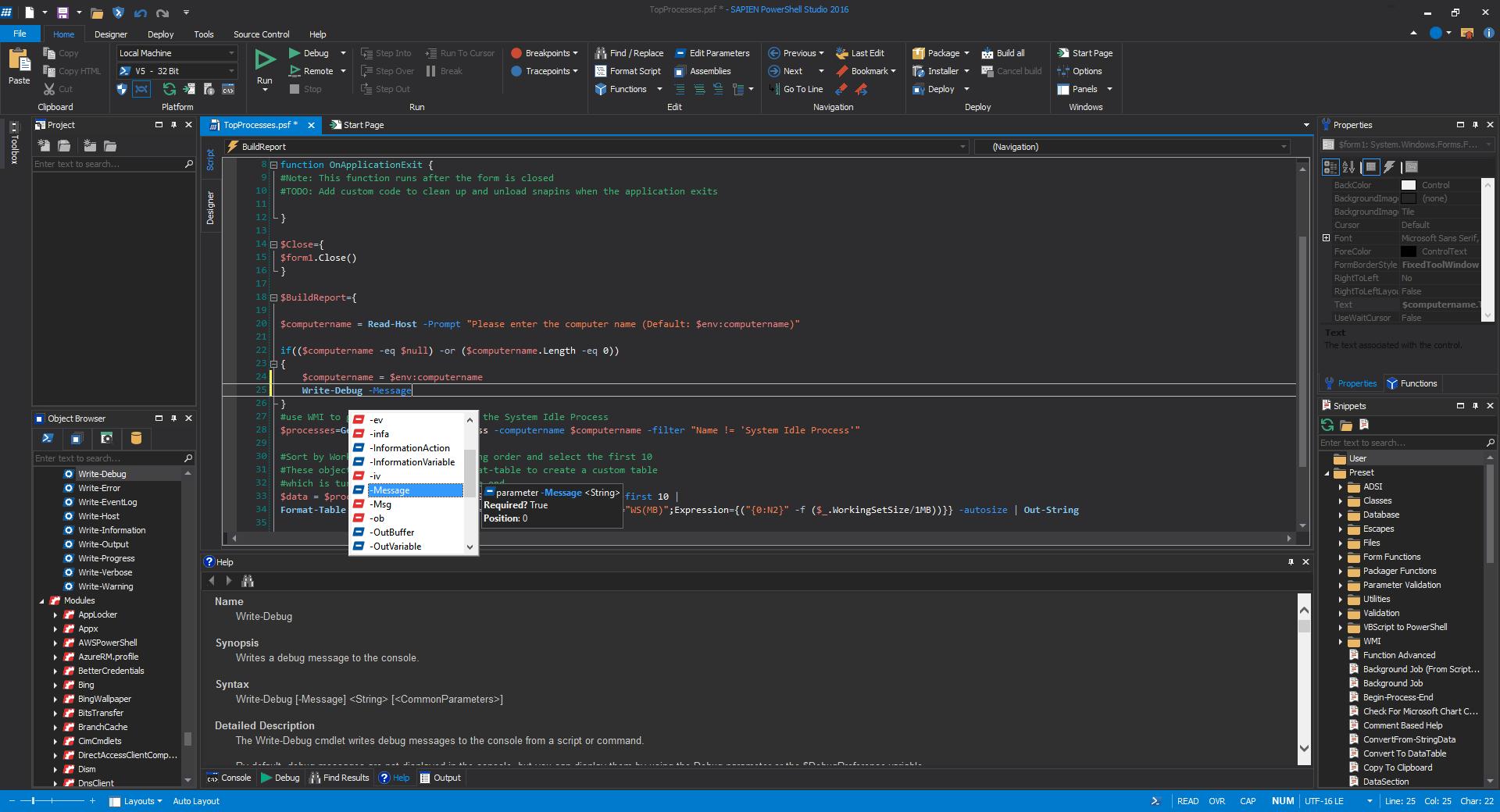 gui designer  vbscript gui designer