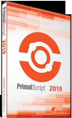 Sapien Technologies | PrimalScript | Scripting for