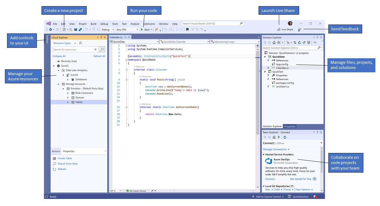 Visual Studio - Microsoft Visual Studio 2019 | MicroWay